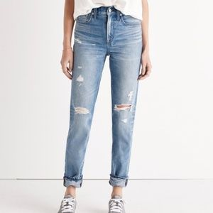 Madewell Perfect Vintage Jean.. Destructed Edition